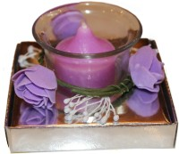 Fragrance Concoction Lavender Fragrance Votive Candle (Purple, Pack Of 1)
