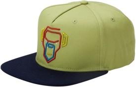 Urban Monkey Solid Green Baseball Cap Cap