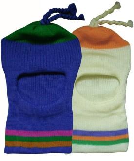 Softoe Striped Three Striped Cap Pack Of 2