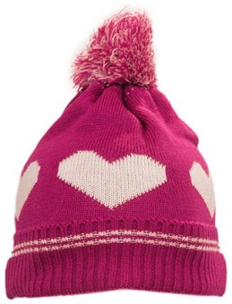 Prrem's Self Design Heart Design Beanie Cap - CAPEDFU4RQXASFP2