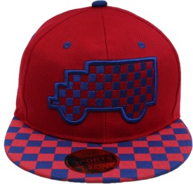 Sushito Solid Fancy Cool Red Hip Hop Cap