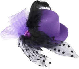 ISweven ISweven Hot Sale Women Bowknot Headdress Mini Hats Fascinator Clips Top Caps Costume Accessory Headwear Issuing With Feather Solid Mini Hat Cap - CAPEBF9VRRHTHHPM