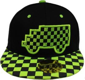 Sushito Solid Fancy Cool Black Hip Hop Cap