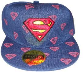 RR Accessories Blue Superman Cap