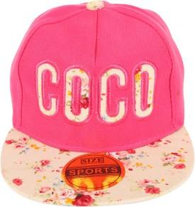 ILU Floral Print Snapback, Hip-Hop Cap For Kids, Coco Cap