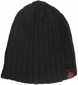 TakeInCart Solid Woolen Black Lines Cap