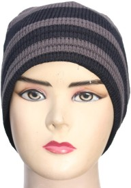 Romano Striped Winter Skull Cap