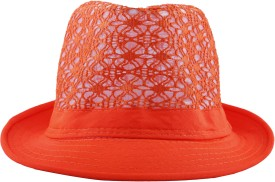FabSeasons Kids Hat Embroidered Fedora Hat Cap