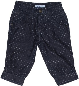 Chalk By Pantaloons Girl's Denim Capri