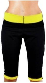 IBS HotShapers Neotex Slimming Body Shaper Tummy Wonder Slim N Lift Trimmer Thigh Knee Slimming Pants Exercise Wear Hotshapers Charcoal Bamboo Men's, Women's Capri