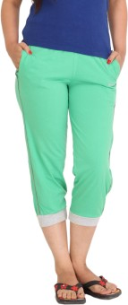 Colors & Blends Cl-101 C. Green Women's Capri