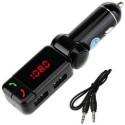 FINAUX 2 Car Bluetooth Device With (Black)