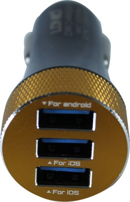 LDNIO DL-C50 5.1A Triple USB Car Charger