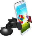 OTD Mini Clip Universal Smartphone Car Mount Holder With 360 Degree Rotation Mobile Holder (Black)