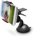 Fiesta 360 Degree Spin Mobile Phone Holder Bracket (Black)