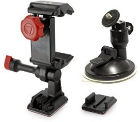Velocity Clip Universal Smartphone Car Windshield Mount Holder Cradle for iPhone 6 5 5S 5C 4 4S Samsung Galaxy S5 S4 S3