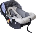 MeeMee Canopied Car Seat Cum Carry Cot - Grey