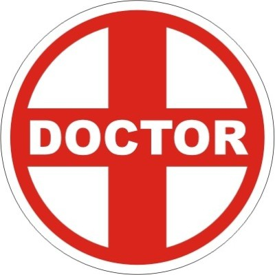 60 off on xtreme doctor logo 3 inch reflective for all