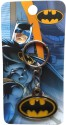 Warner Bros Batman Metal Key Chain - Black, Yellow