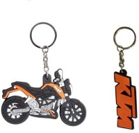 Chainz KTM Duke Bike Shaped And Duke 200 (Multicolor)