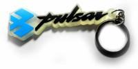 Techpro Transparent Soft Pulsar Key Chain (Multi Color)
