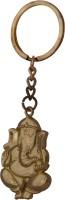 Oyedeal KYCN823 Lord Ganesha Full Metal Key Chain (Gold)