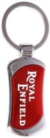Ezone Royal Enfield Full Metal Key Chain (Red)