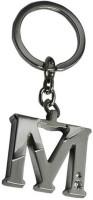 True Traders True Traders Metal Alphabet M Keychain Key Chain (silver)