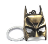 AA Retail Batman Mask Bronze Premium Metal Keychain (Bronze)