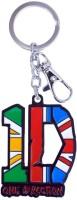 Chainz Locking Bent Gate Key Chain (Multicolor)