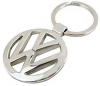 CTW Wolkswagen Logo Premium Quality Metal Key Chain (Silver)