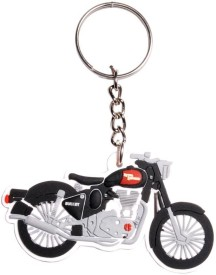 Chainz Royal Enfield Motorcycle Silicon Keychain