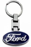Aditya Traders CLASSY FULL METAL 'FORD' CAR KEYCHAIN Key Chain (BLUE)
