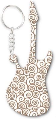 Lolprint 225 Pattern Guitar Key Chain