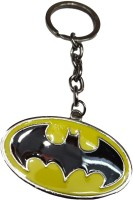 Confident Multi Color Metal Batman Keychain (Multi)