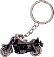 Anishop Royal Enfield Bullet Bike Premium Quality Metalic Key Chain (Copper)