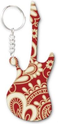 Lolprint 298 Pattern Guitar Key Chain