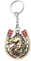 Confident Kc69 High Quality Metal Horse Key Chain (GOLDEN)