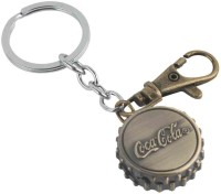 Kairos Designer Cola Pocket Watch Clock Keychain (Brown)