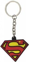 Chainz Superman Logo Silicon Keychain (Multicolor)