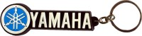 Techpro Singlesided Soft Yamaha Bike Key Chain (Multi Color)