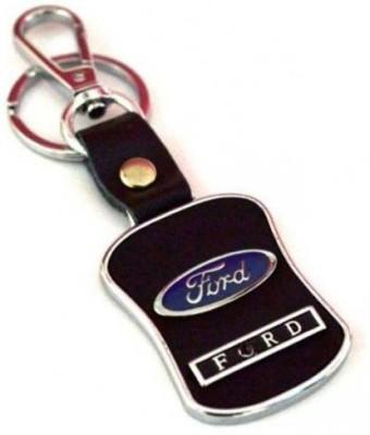 City Choice Lether & Metal Locking Keychain