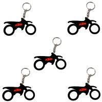 FCS KTM BIkee Key Chain (Multicolor)