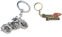 Chainz Metal Chopper Bike And Royal Enfield Re Rubber (Multicolor)
