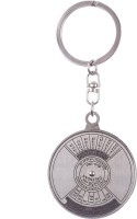 Confident 50 Years Metal Calender Keychain (Silver)