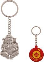 JLT Lord Ganesha Key Chain (Silver)