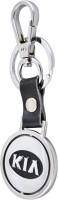 Forty Creek KIA Locking Key Chain (Silver, Black)