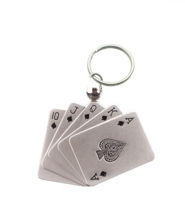 JM's Poker Chip Key Chain