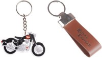 Chainz Royal Enfield Bike Shaped And Leather Strap (Multicolor)