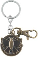 Kairos Limited Edition Butterfly Pocket Watch Clock Keychain (Brown)